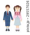 新一年生 入学 男の子のイラスト 29557026