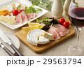 チーズと生ハムのオードブル 29563794