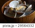 あさりの味噌汁 味噌汁 和食の写真 29564332