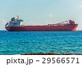 argo freight ship in the caribbean sea. Freight 29566571