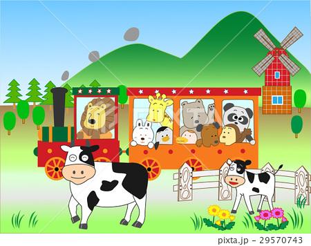 動物たち鉄道の旅 29570743