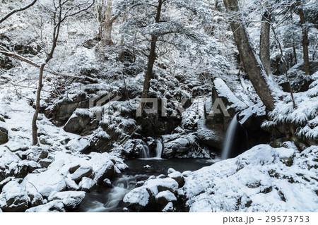 winter waterfall  29573753