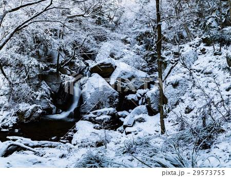 winter waterfall 29573755