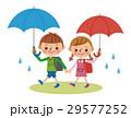 子供 ベクター 梅雨のイラスト 29577252