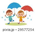 子供 ベクター 梅雨のイラスト 29577254