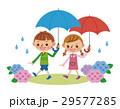 子供 ベクター 梅雨のイラスト 29577285