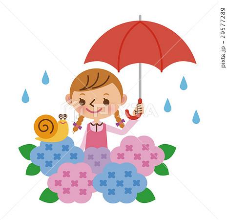 梅雨と女の子 29577289