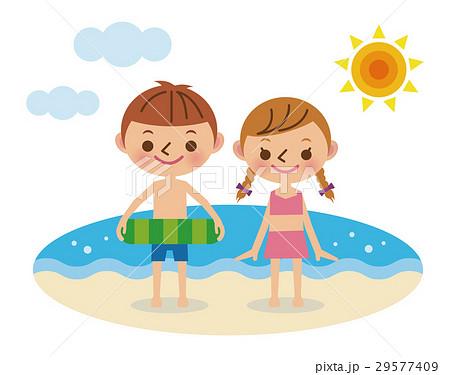海水浴 29577409