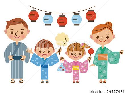家族で夏祭り 29577481