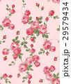 バラのシームレスパターン 29579434