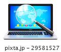 PC ノートパソコン ラップトップのイラスト 29581527