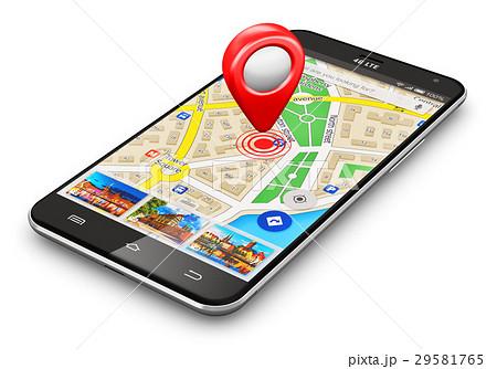 GPS navigation concept 29581765