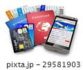 トラベル 観光 パスポートのイラスト 29581903