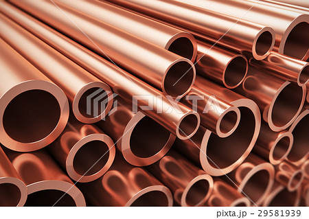 Copper pipes 29581939