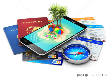 Travel, tourism, holidays and vacations concept 29582100