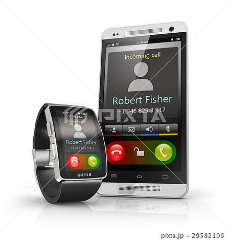 Smartphone and smart watch 29582106