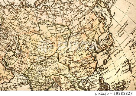 アンティークの古地図 アジア 29585827
