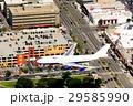 ロサンゼルス 空撮 飛行機の写真 29585990