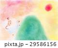 ひつじの冒険:パステル画 29586156