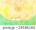 ひつじの冒険:パステル画 29586160