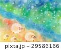 ひつじの冒険:パステル画 29586166