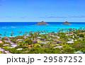 ハワイ ラニカイビーチの風景 29587252