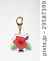 オリジナルキーホルダー ハイビスカス 29587399