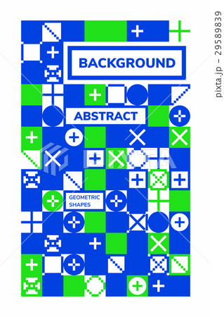 Abstract Geometric Backgroundsのイラスト素材 [29589839] - PIXTA