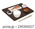 朝食 和食 料理のイラスト 29590927