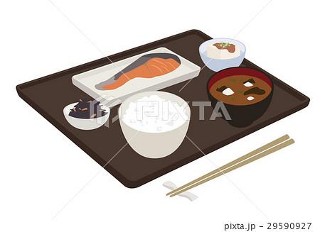 朝食 和食 イラスト 29590927