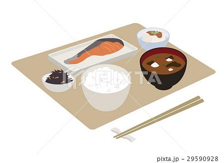 朝食 和食 イラスト 29590928