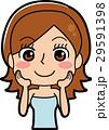 女性 ビューティ スキンケアのイラスト 29591398