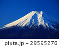 高川山から望む青空に映える富士山 29595276