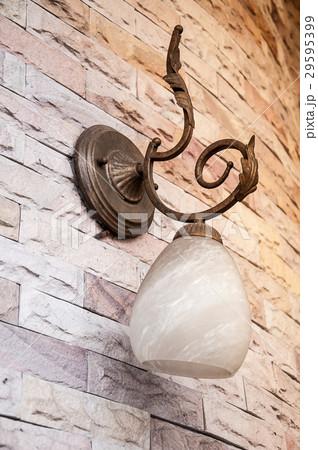 Vintage bronze classic lampの写真素材 [29595399] - PIXTA