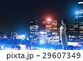 ナイト 夜 都市の写真 29607349