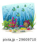 Illustration of an underwater landscape 29609710