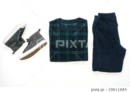 Men clothes setの写真素材 [29611884] - PIXTA