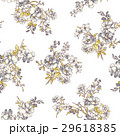 花 花柄 パターンのイラスト 29618385