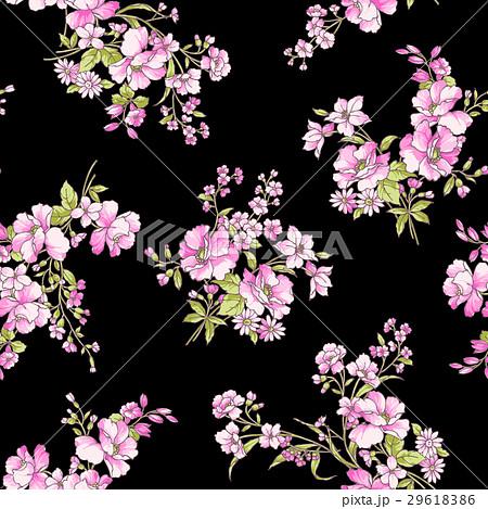 フェミニンな花柄 29618386