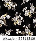 花 花柄 パターンのイラスト 29618389