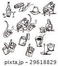 ピアノとサックスなどのイラスト 29618829