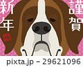年賀状 戌年 犬のイラスト 29621096