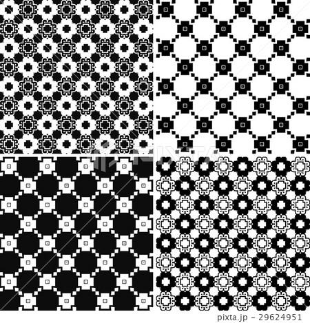 Seamless decorative patternsのイラスト素材 [29624951] - PIXTA