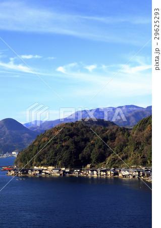 12月 伊根舟屋-漁村の伝統的家並み- 29625293