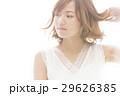 ビューティー 女性 ヘアケア ハレーション スキンケア ビューティ 若い女性 美容 UVケア 29626385