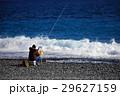 海釣り 釣り人 海岸の写真 29627159