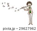 音楽 演奏者 演奏のイラスト 29627962