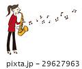 音楽 演奏者 演奏のイラスト 29627963
