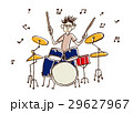 音楽 演奏者 演奏のイラスト 29627967