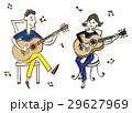 音楽 演奏者 演奏のイラスト 29627969